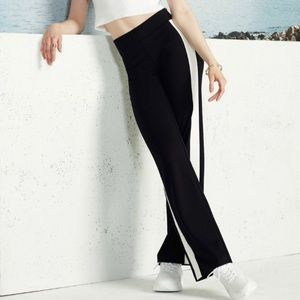 ILTM I Love Tyler Madison Black Pants w/ Stripe S